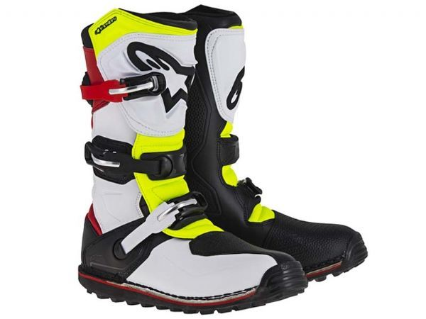 ALPINESTARS TECH T WHITE YELLOW
