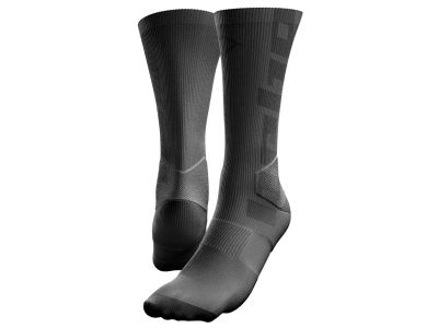 CALCETINES HEBO SOLID GRIS OSCURO