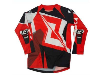 CAMISA TRIAL JUNIOR MOTS RIDER3 ROJO