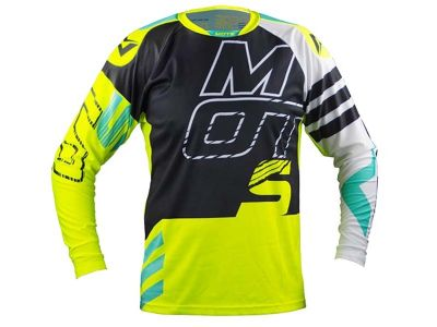 CAMISA TRIAL MOTS STEP5 FLUO