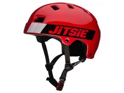CASCO B3 CRAZE ROJO