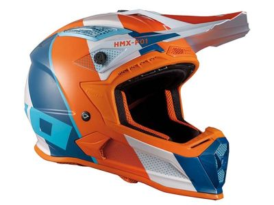 CASCO HEBO MX RIPPLE NARANJA