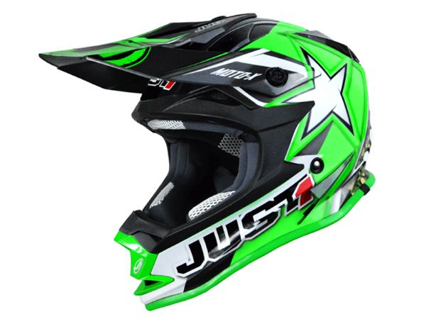 CASCO JUST1 J32 MOTOX VERDE