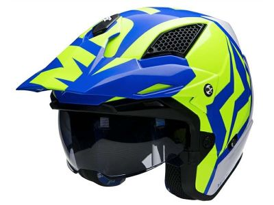 CASCO TRIAL MOTS JUMP UP01 AZUL