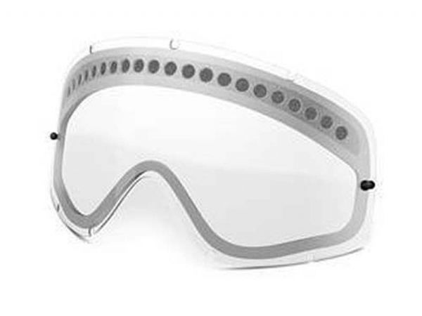 CRISTAL OAKLEY O-FRAME MX DUAL-VENTED CLEAR