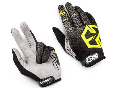 GUANTES TRIAL S3 SPIDER KID FLUO
