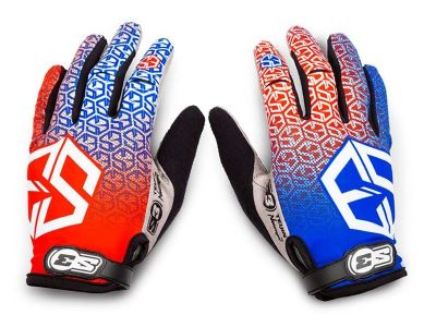 GUANTES TRIAL S3 SPIDER MULTICOLOR