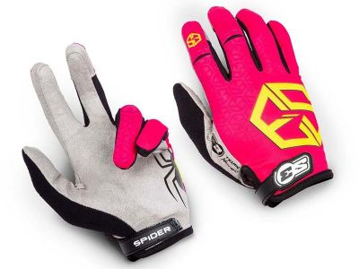 GUANTES TRIAL S3 SPIDER KID ROSA
