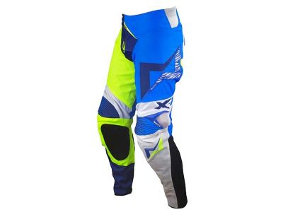 PANTALON ENDURO MOTS END/MX X1 AZUL FLUO