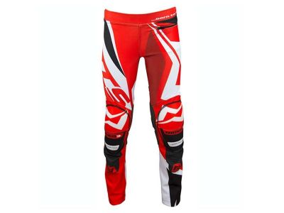 PANTALON TRIAL JUNIOR MOTS RIDER3 ROJO
