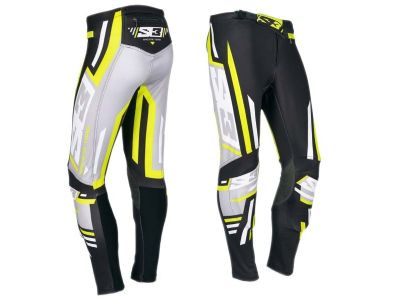 PANTALON TRIAL S3 RACING TEAM NEGRO FLUO