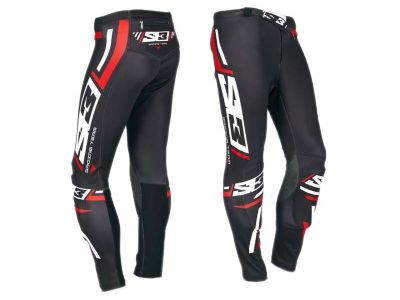PANTALON TRIAL S3 RACING TEAM NEGRO