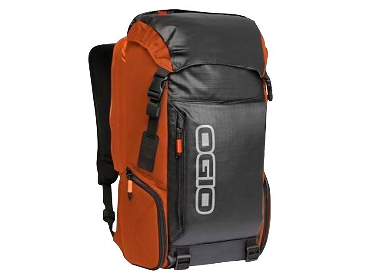 BOLSA OGIO THROTTLE 15 NARANJA