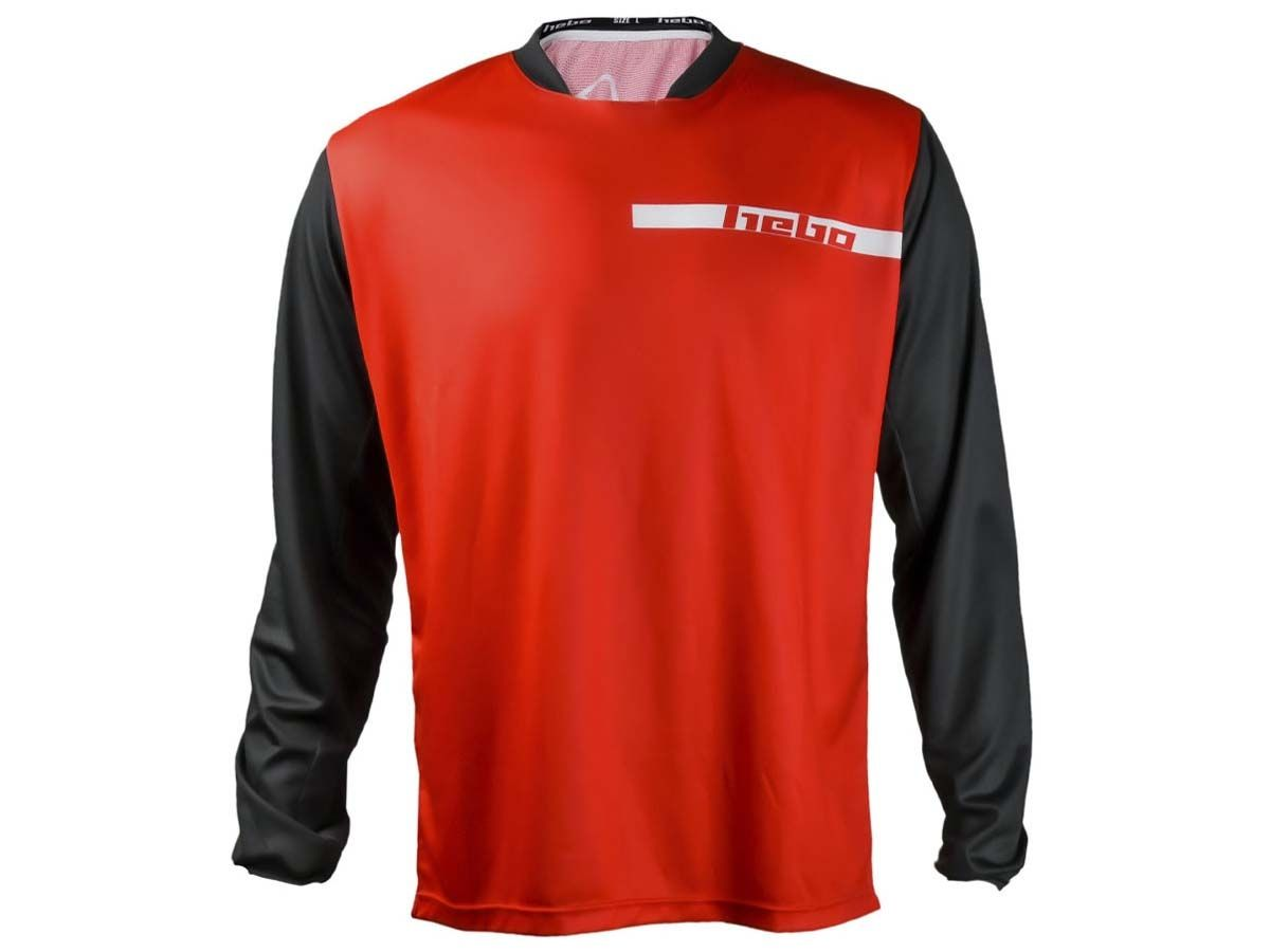 CAMISETA TRIAL HEBO TECH ROJO
