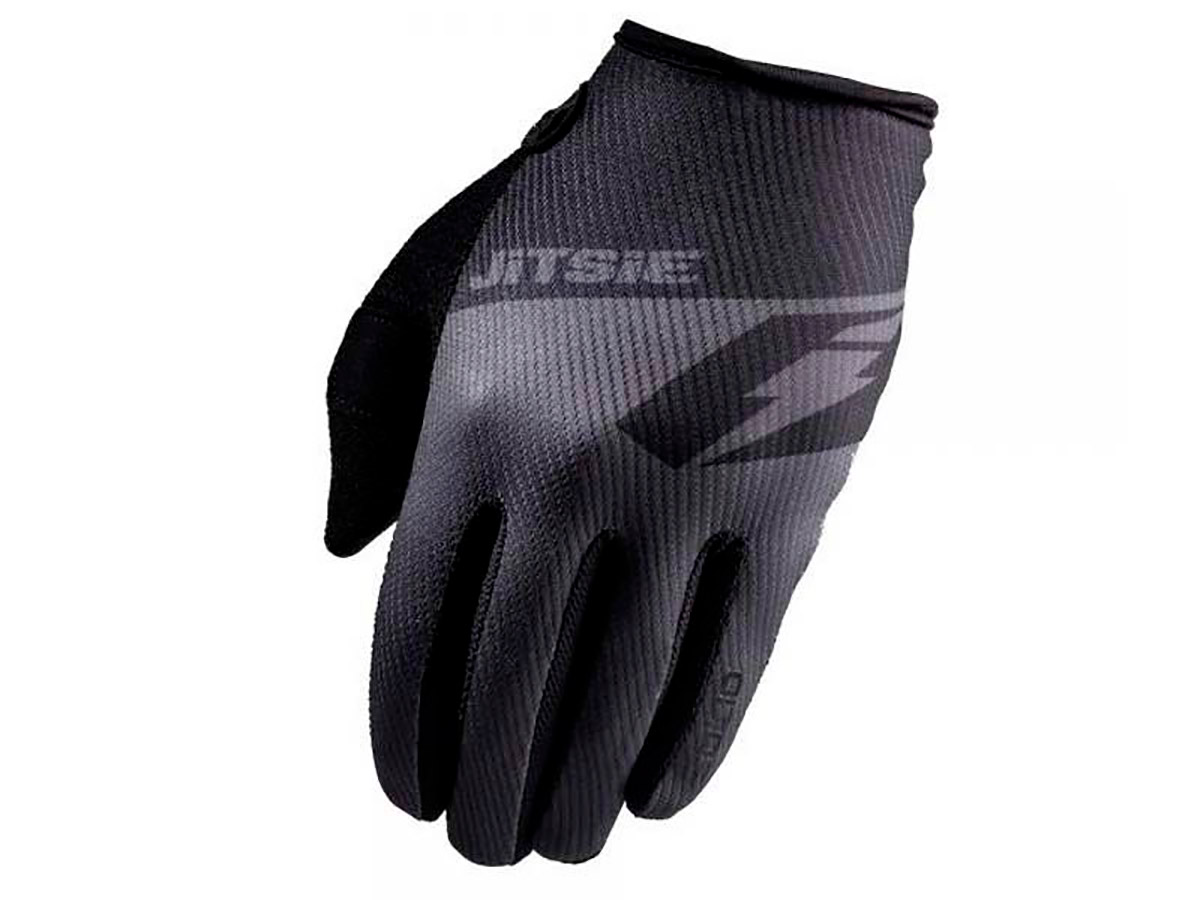GUANTES TRIAL JITSIE G2 SOLID NEGRO