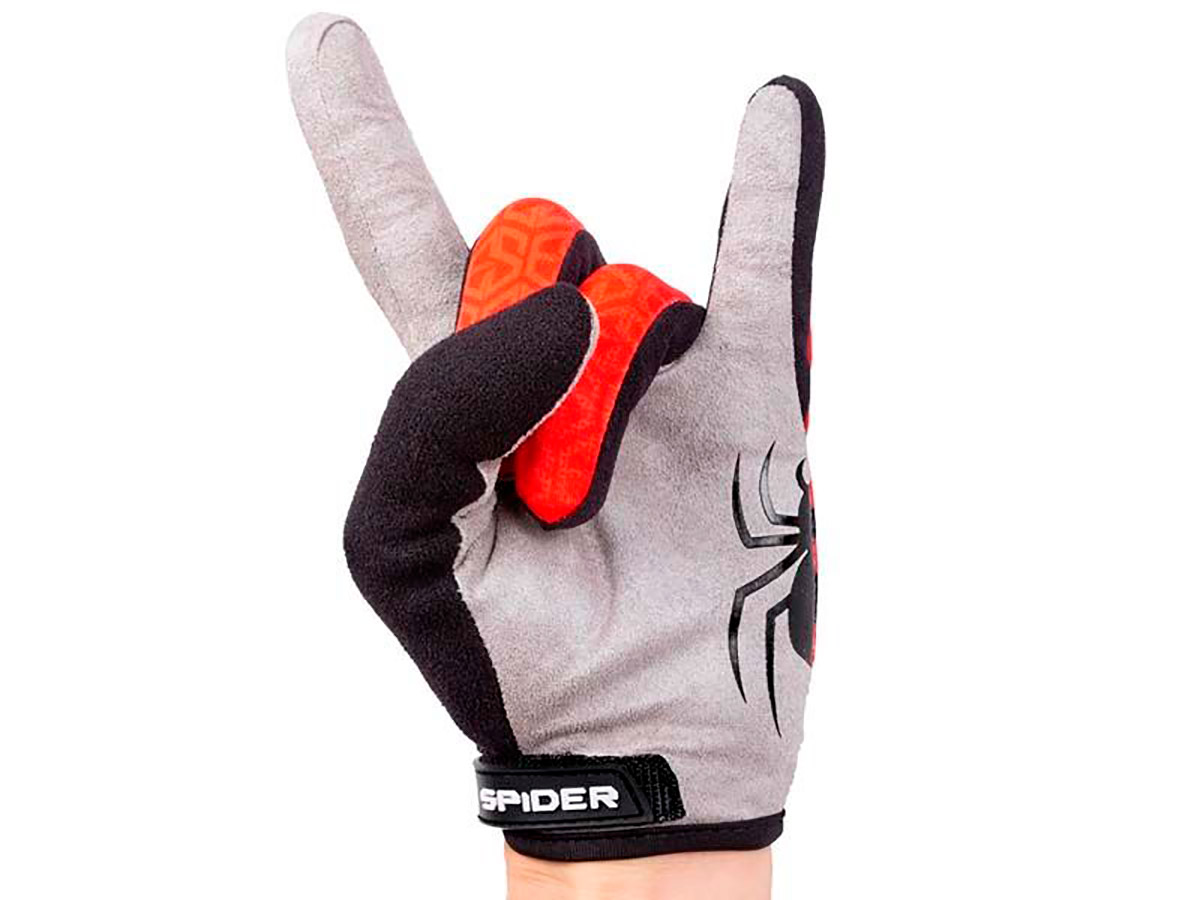 GUANTES TRIAL S3 SPIDER ROJO