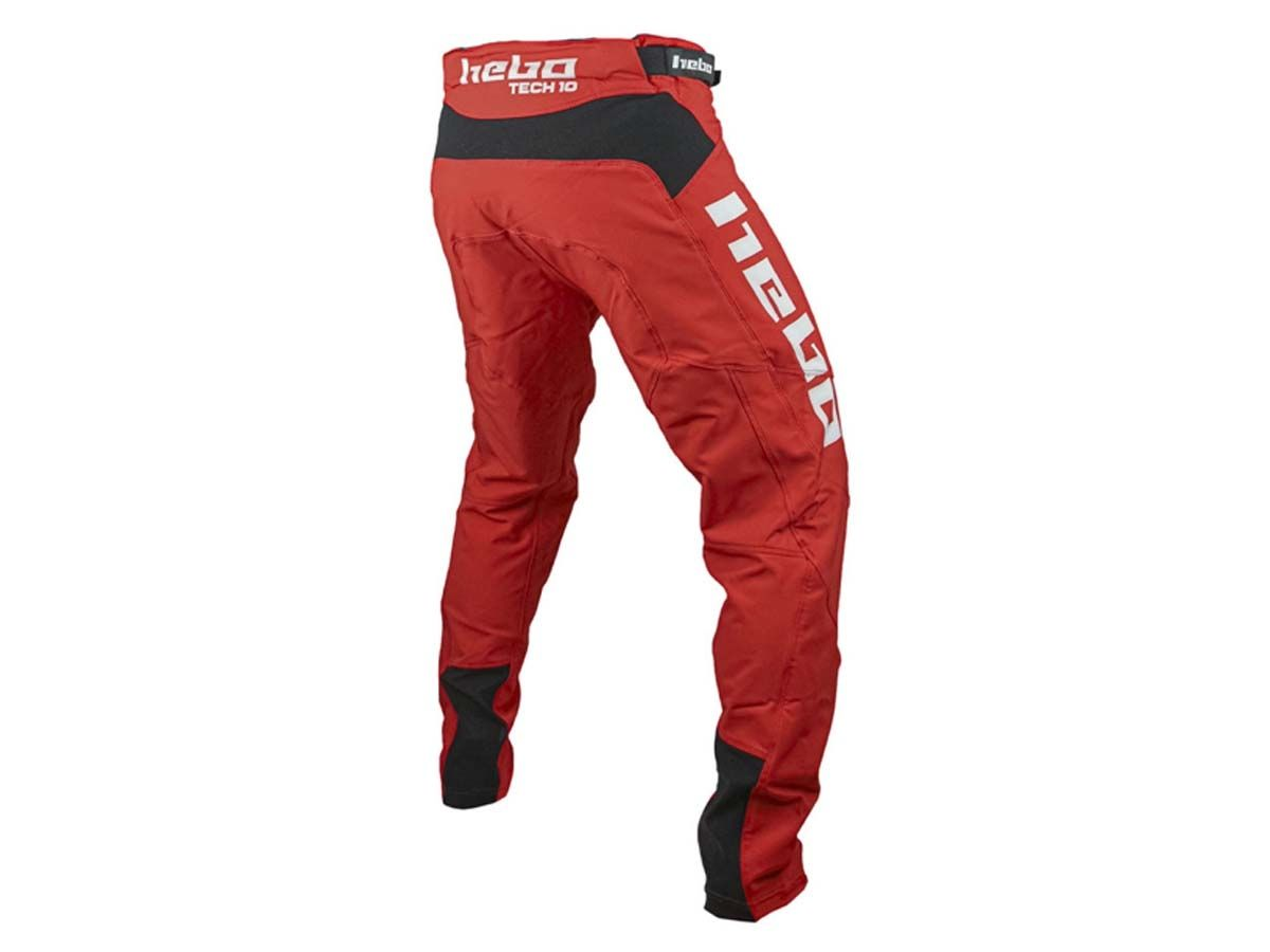 PANTALON TRIAL HEBO TECH ROJO
