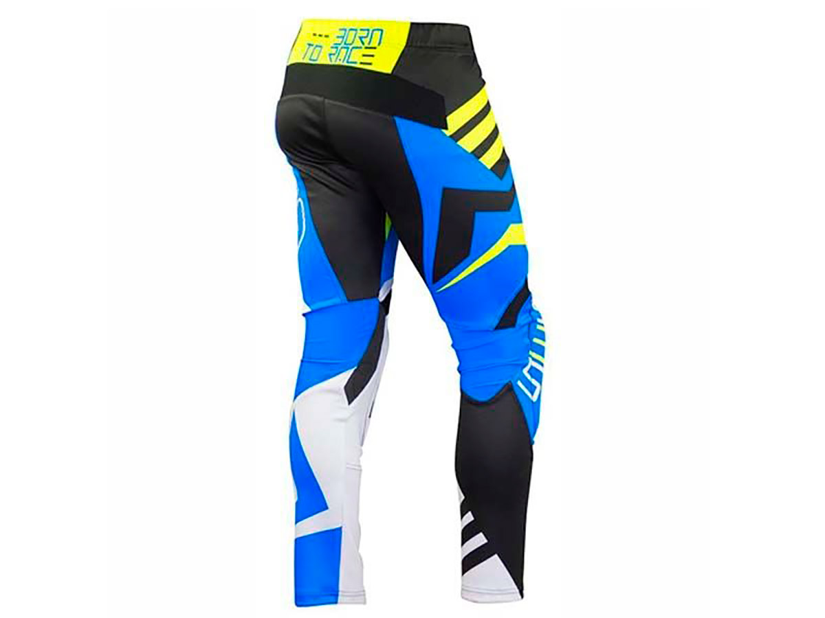 PANTALON TRIAL MOTS STEP5 AZUL
